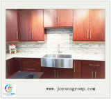 中国からインポートされる米国式の純木の食器棚