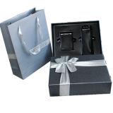 Custom bandeja de plástico, cartón de papel con bolsa de cosméticos Box Set de regalo