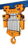 palan électrique à chaîne 25tonne avec crochet de suspension