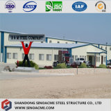 Estructura de acero prefabricados multifuncional panel sándwich de Edificio comercial