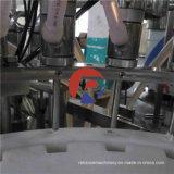 Máquina que capsula del champú del embotellado cosmético automático del líquido viscoso