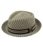 Playa de papel de los sombreros de paja del borde de los sombreros anchos de encargo del sombrero de ala