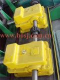 Rodillo galvanizado sumergido caliente del enlace del cable que forma la máquina Myanmar de la producción