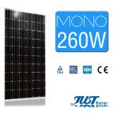 가정 사용을%s 최신 판매 260W 단청 태양 전지판
