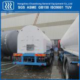 液体の半N2 O2 Arの二酸化炭素のタンク車のトレーラーのタンカー