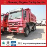 20 de camión volquete HOWO cúbicos con motor diesel de 336 CV