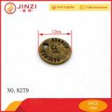 La moneta su ordinazione del metallo dell'Oggetto d'antiquariato-Ottone etichetta il ricordo nome della medaglia