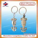 공장 직매 주문 금속 차 로고 Keychain