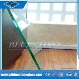 Tela de seda venda quente 6.38mm vidro tecido laminado de segurança de construção para a parede divisória