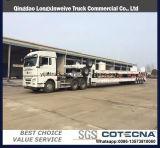 3 de Lage Aanhangwagen van de Vrachtwagen van de Aanhangwagen van de Oplegger van het Bed Alxe