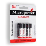 Superpotencia pila alcalina AAA/LR03 con empaque Blíster