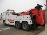 販売のためのHOWOの牽引容量50tonの道のレッカー車