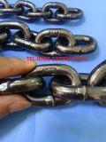 Corrente de ligação de aço do preto do metal do ferro de G 80