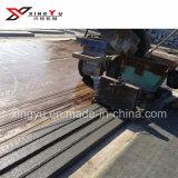 Material concreto del pilar la máquina