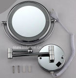 Bathroomwall-Mounted Miroir grossissant double face avec LED