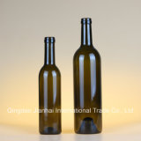 Fles van de Wijn van het Glas van de Bevordering van de verkoop de Uitstekende met Schroefdop