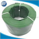 Serviço médio Layflat PVC Mangueira de descarga de água para lavagem da bomba de drenagem