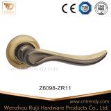 Ручка рукоятки двери сплава цинка цвета кофеего циновки (Z6311-ZR09)