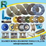 Les roues de la Coupe du diamant à partir d'Romatools à double rangée