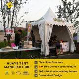 Witte Tent 4X4m van de Pagode van het Dak Hoge Piek voor OpenluchtActiviteit