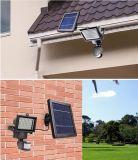 Projecteur solaire avec PIR. Lumières solaires extérieures de mur du détecteur de mouvement DEL