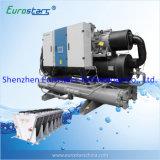 Réfrigérateur refroidi à l'eau de conception de refroidisseur d'eau de vis sèche européenne de refroidisseur