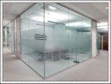 duidelijk/Gekleurd/Berijpt/Weerspiegelend 319mm Gehard glas voor de Bouw
