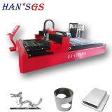 Machine de découpage de plaque métallique de commande numérique par ordinateur de laser de portique pour la publicité