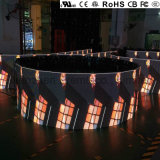 Top de Qualidade Europeia P2.9 Display LED curvo de aluguer para interior