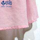 Quality Custom Senhoras Noite Prom Chiffon Flower Pleat Lady Dress