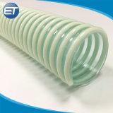 La producción china de cartón ondulado de PVC flexible en espiral la manguera de aspiración con accesorios