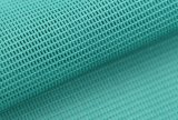 100% poliéster de alta calidad Soccer Jersey de Tricot Kintted tejido de malla de poliéster