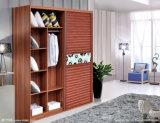 حديثة غرفة نوم أثاث لازم خشبيّة جدار خزانة ثوب مع [سليد دوور]