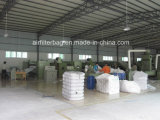 Bolsa de Filtro de fibra de vidrio de alto rendimiento para la planta de cemento (Filtro de aire)