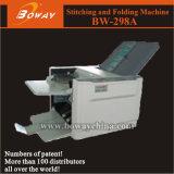 Máquina plegable de papel automática de escritorio de la pequeña oficina (BW-298A)