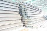 Viga de acero H para la construcción de la estructura de acero H (perfil)