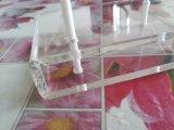 Présentoir acrylique de lucette de vente en gros de petite taille d'usine