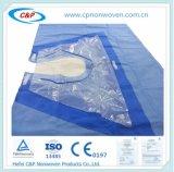 Anhui C&P reforzado quirúrgico cirugía estéril de paño de hombros