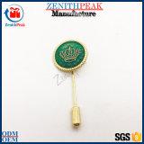 Pino de lapela coroa agulha longa Custom Hat Pins Stick Pino