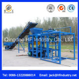 Bloco oco concreto pequeno da usina Qt4-26 que faz a máquina