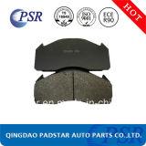 Almofada de freio Semi-Metallic do veículo de Wva29125 Commerical
