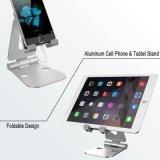 2017 universel alliage d'aluminium pliable de gros de support de bureau en métal socle de téléphone cellulaire tablette