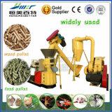 Producción primaria y secundaria de fácil mantenimiento para la silvicultura de la máquina de alimentación de cascarilla de arroz para hacer Pellas
