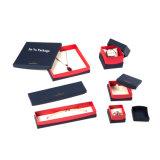 주문 빨간색 Handmade Retro 선물 보석 고정되는 포장 상자 공장