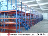 Rack de piso Mezzanine de armazenamento de dados, soluções de armazém com alta capacidade