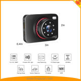 2.7inchソニーImx323センサーの接触の極度の夜間視界HD車のダッシュのカメラは操作を調整する