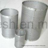 I Dutch tessono il tubo filtrante dell'acciaio inossidabile