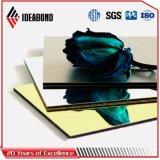 Comitato composito di alluminio di rivestimento dello specchio dell'argento di prezzi di fabbrica di Ideabond Guangdong