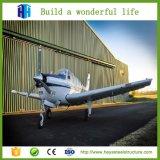 Proyecto del taller del aeroplano de la estructura de acero para África