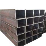 Tubo d'acciaio rettangolare del carbonio del nero del materiale da costruzione